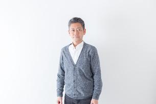 日本人男性シニアの写真素材 [FYI04654364]