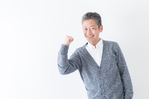 日本人男性シニアの写真素材 [FYI04654386]