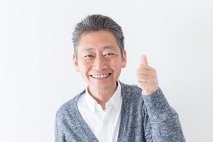 日本人男性シニアの写真素材 [FYI04654393]
