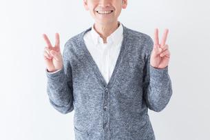 日本人男性シニアの写真素材 [FYI04654395]