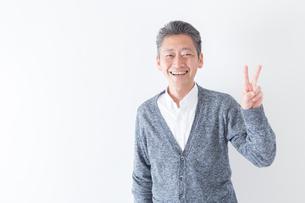 日本人男性シニアの写真素材 [FYI04654399]