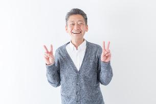 日本人男性シニアの写真素材 [FYI04654402]