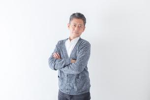 日本人男性シニアの写真素材 [FYI04654405]