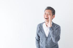 日本人男性シニアの写真素材 [FYI04654419]