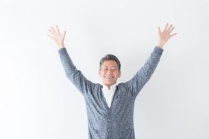 日本人男性シニアの写真素材 [FYI04654427]
