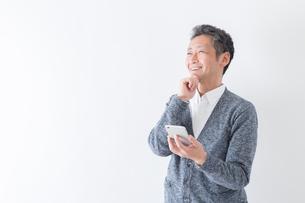 日本人男性シニアの写真素材 [FYI04654444]
