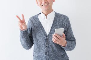 日本人男性シニアの写真素材 [FYI04654454]