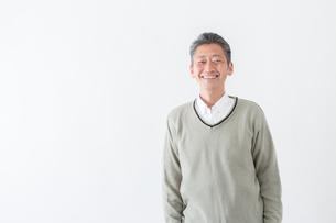 日本人男性シニアの写真素材 [FYI04654485]