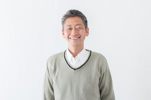 日本人男性シニアの写真素材 [FYI04654492]