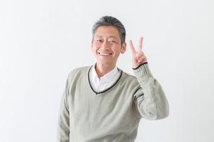 日本人男性シニアの写真素材 [FYI04654496]