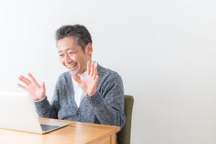 日本人男性シニアの写真素材 [FYI04654544]