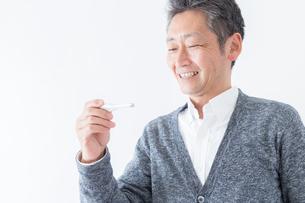 日本人男性シニアの写真素材 [FYI04654604]
