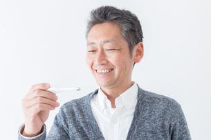 日本人男性シニアの写真素材 [FYI04654605]