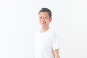 日本人男性シニアの写真素材 [FYI04654714]