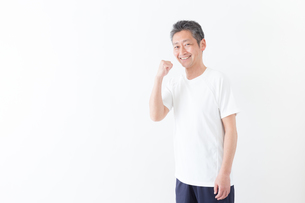 日本人男性シニアの写真素材 [FYI04654729]