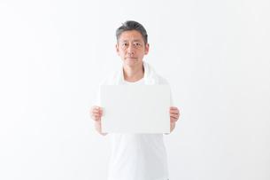 日本人男性シニアの写真素材 [FYI04654779]