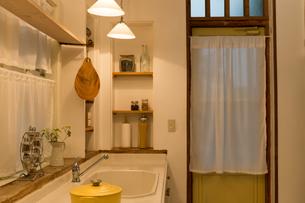 洗面所の写真素材 [FYI04654935]