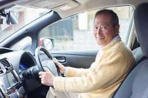 日本人シニア男性の写真素材 [FYI04655173]