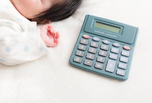 赤ちゃんの写真素材 [FYI04655241]