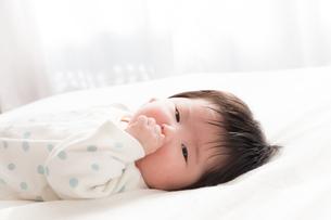 赤ちゃんの写真素材 [FYI04655264]