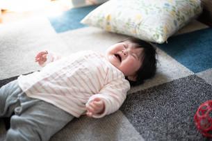 赤ちゃんの写真素材 [FYI04655348]