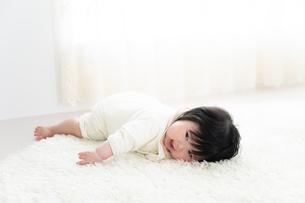 赤ちゃんの写真素材 [FYI04655526]