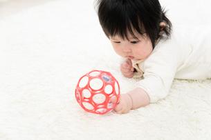 赤ちゃんの写真素材 [FYI04655548]