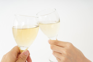 ワイングラス・シャンパンイメージの写真素材 [FYI04656808]