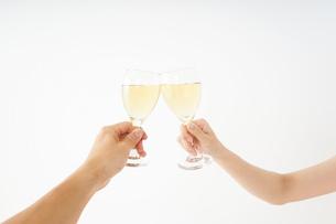 ワイングラス・シャンパンイメージの写真素材 [FYI04656824]