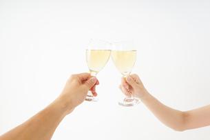 ワイングラス・シャンパンイメージの写真素材 [FYI04656826]