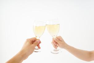 ワイングラス・シャンパンイメージの写真素材 [FYI04656837]