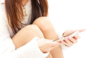 若い日本人女性の写真素材 [FYI04657290]