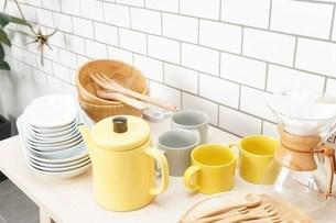 キッチン 食器イメージの写真素材 [FYI04657710]