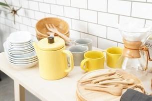 キッチン 食器イメージの写真素材 [FYI04657713]