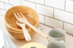 キッチン 食器イメージの写真素材 [FYI04657719]