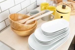 キッチン 食器イメージの写真素材 [FYI04657720]