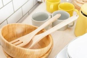 キッチン 食器イメージの写真素材 [FYI04657727]