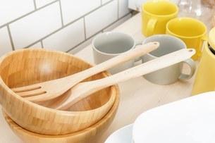 キッチン 食器イメージの写真素材 [FYI04657732]
