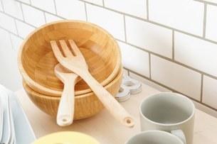キッチン 食器イメージの写真素材 [FYI04657735]