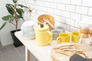 キッチン 食器イメージの写真素材 [FYI04657737]