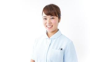 看護師 笑顔の写真素材 [FYI04658596]