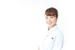 看護師 笑顔の写真素材 [FYI04658601]