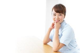 看護師 笑顔の写真素材 [FYI04658612]