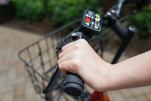 自転車イメージ・アップの写真素材 [FYI04659135]