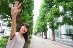 若い日本人女性の写真素材 [FYI04659228]