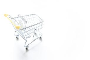 ショッピングカートの写真素材 [FYI04659293]