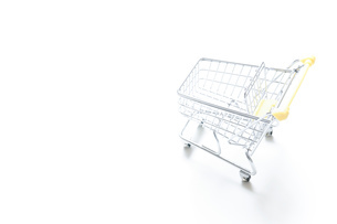 ショッピングカートの写真素材 [FYI04659299]
