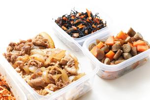 作り置き・常備菜・お弁当の写真素材 [FYI04659360]