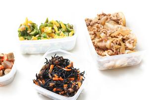 作り置き・常備菜・お弁当の写真素材 [FYI04659385]