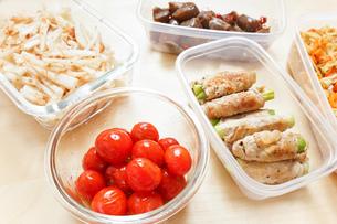 作り置き・常備菜・お弁当の写真素材 [FYI04659402]